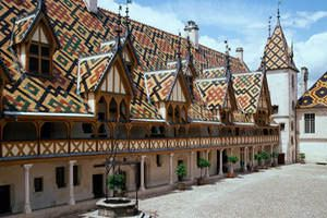 Hospices de Beaune - one othe jewels of Burgundye