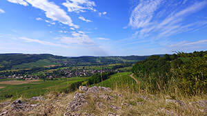 Vaux valley - view point of le Theu