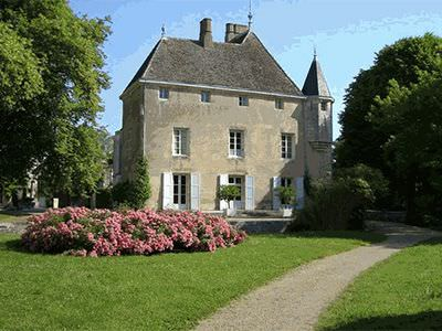The chateau of Germolles is 3km away