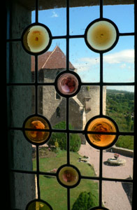 Chateau of Couches donjon window