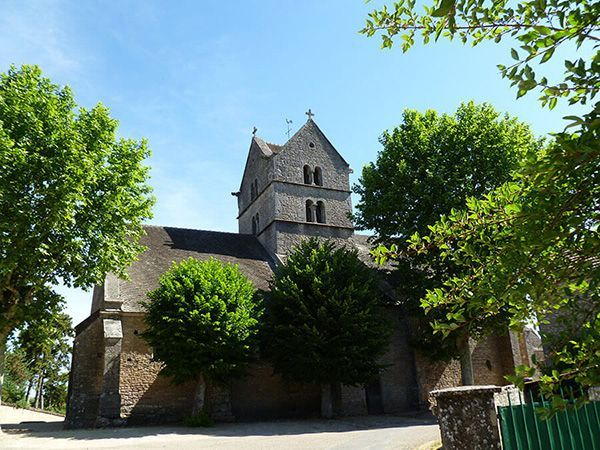 Roman church Burgundy