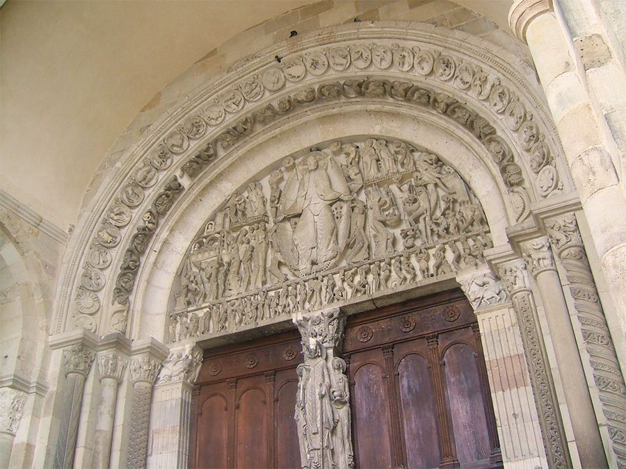tympanum cathedral autun