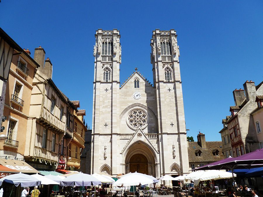 Saint-Vincent cathedral in Chalon/Saône